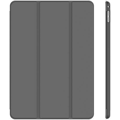 JETech Hülle Kompatibel Apple iPad Mini 4, Schutzhülle mit Ständer Funktion & Auto Schlafen/Wachen, Dunkel Grau