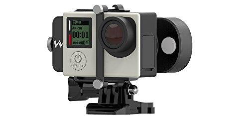 PNJ Cam–FeiYu Tech–WG Lite–Stabilisator Motorisiertes auf 1Achse–Kompatibel Sportkamera Gopro/AEE MagiCam