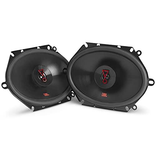 JBL Stage3 8627 - Altavoces coaxiales para Coche (2 Unidades, 152 x 203 mm), Color Negro