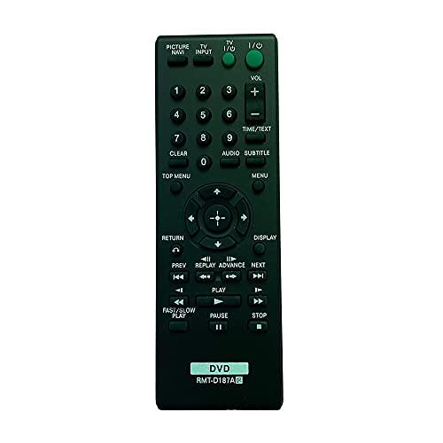 Davitu Remote Controls - Replaced Remote Control For SONY DVP-CX985V DVP-CX777ES DVP-NS710 DVP-NS710H DVP-NS718H Digital DVD Player