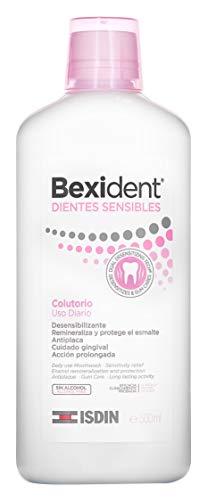 Isdin Bexident Dientes Sensibles Colutorio, Uso diario, Combate la hipersensibilidad dental  1 x 500 ml