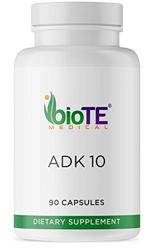 Biote Medical - ADK 10 - Clinical Grade - Vitamin A, Vitamin D, Vitamin K (90 Capsules)