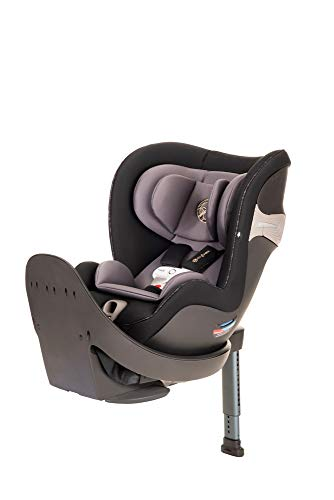 CYBEX Sirona S Rotating Convertible Car Seat with SensorSafe 2.1, Children Newborn to Four Years, Easy Child Load in, Infant Baby Toddler Preschooler, in Premium Black
