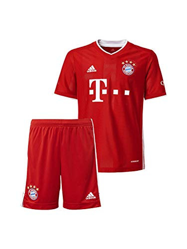 FC Bayern München Home-Trikot Saison 2020/21 Mini Kit, Gr. 116, ohne Flock