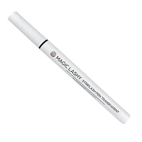 Klebender Eyeliner für künstliche Wimpern langanhaltend Bandwimpern Haftstift transparent oder schwarz 24h Halt Striplash Pen (transparent)