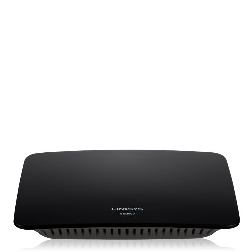 Linksys SE2800 8 Port Gigabit Ethernet Switch QoS Priorisierung Energiesparfunktionen Plug & Play