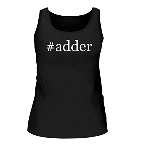 Shirt Me Up #Adder - A Nice Hashtag Women's Tank Top, Black, Large