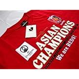 オフィシャル サッカー Jリーグ 浦和レッズ ACLチャンピオン記念シャツ アジアチャンピオンズリーグ ポンテ 小野