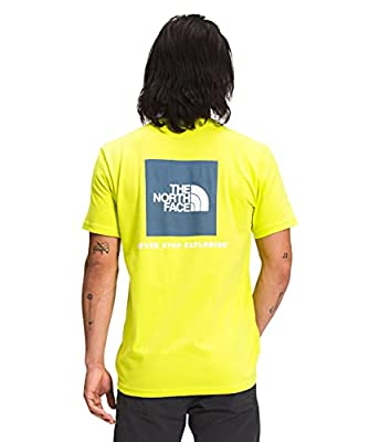 The North Face Men's S/S Box NSE Tee, Sulphur Spring Green, L