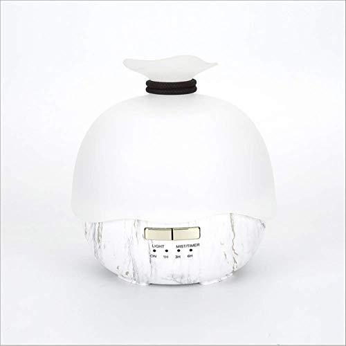 Aroma-Luftbefeuchter,Marmor-Muster 400ML stille bunte Beleuchtung Aromatherapie Diffusor für Yoga, SPA, Studie, Schlafzimmer