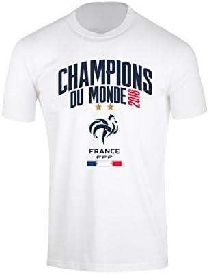 Camiseta Oficial Selección de Fútbol de Francia FFF - 2018 Blanco