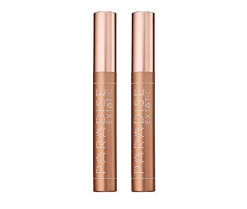 L'Oréal Paris Paradise Extatic Mascara, Farbe: Schwarz, 2 x 6,4 ml, 2 Stück