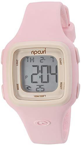 Rip Curl Candy 2 - Reloj Digital de Silicona, Color Rosa Pastel
