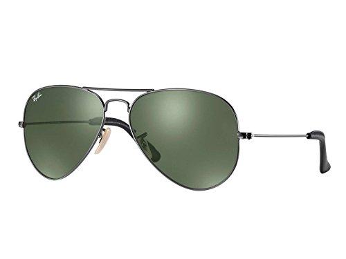 Ray-Ban Rb 3025 Gafas de sol, Gris (Gunmetal), 58 mm Unisex Adulto
