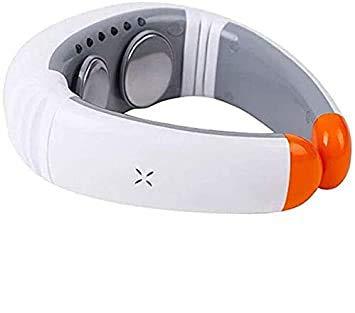 Sooiy Neck Massager Masajeador de Cuello Calentador Cervical Masajeador Pulso electromagnético Instrumento de Fisioterapia Cervical Massagers