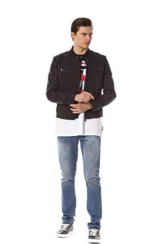 Trussardi Jeans 52S00141-1T000605 Veste, Noir, 44 Homme