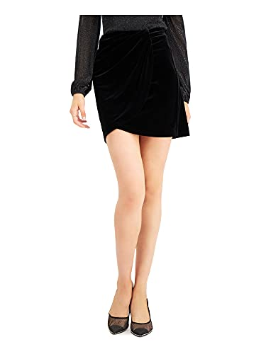 bar III Womens Black Mini Tulip Party Skirt Size XXL
