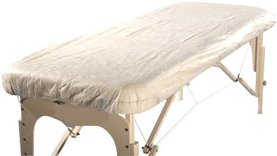 "Therapist's Choice®""Waterproof"" Fitted Disposable Massage Table Sheet, 10pcs per Package. Single Use, Not Made or Intended to be disinfected and re-Used."
