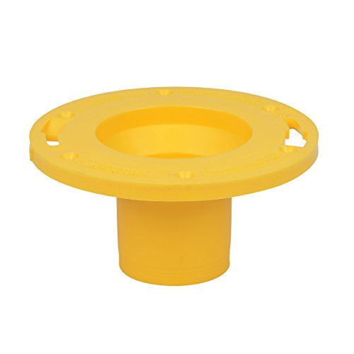 OATEY 43405 Set-Rite Toilet Flange Extender only, 1 size, Yellow