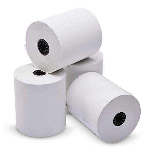 Kitchen Printer Paper Rolls - 3x 150' 1-ply Bond Paper 50 Rolls sp700 printer paper | Premium Quality Bond Paper