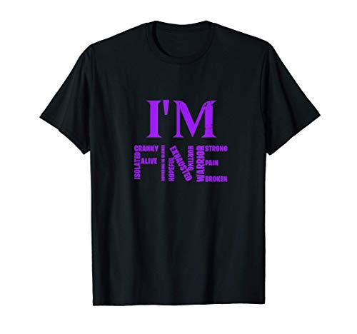 Fibromyalgia Awareness Tshirt for a Fibromyalgia Warrior T-Shirt