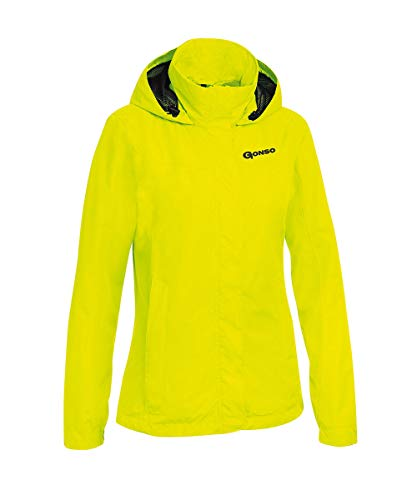 Gonso Damen Sura Allwetterjacke, Safety Yellow, 38 EU