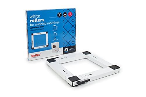 Roller Transportroller für Waschmaschine Trockner 40-70 cm bis 300kg Weiß