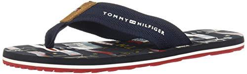 Tommy Hilfiger Heritage Flag Herren Sandalen Navy