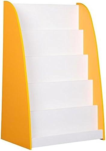 Bücherregal  Farbe  gelb