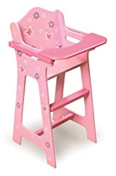 powerful Children's Chair Badger Basket for Flower and Butterfly Dolls (Suitable for American Girl Dolls)