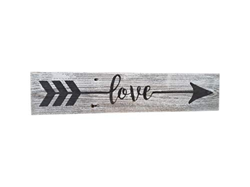 Farmhouse Valentine arrow sign.