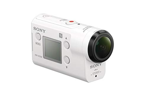 Sony HDRAS300/W HD Recording, Action Cam Underwater Camcorder, White (Renewed)