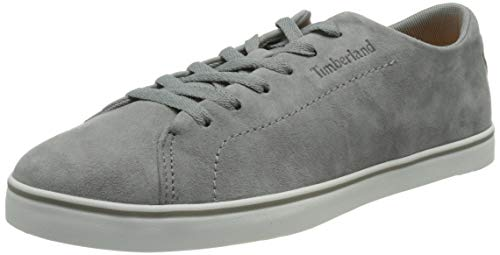 Timberland Skape ParkLeather Lace-Up, Sneakers Basse Uomo, Gris Medium Grey Suede, 43 EU