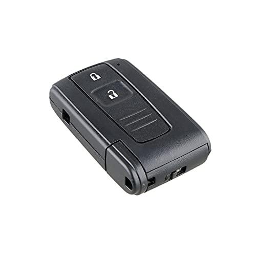 NERR YULUBAIHUO 2 Botón Mini Mini Tecla Remoto Caso Remoto Caso Caja Ajuste para Toyota Prius Corolla Verso Juguete 43 Hoja