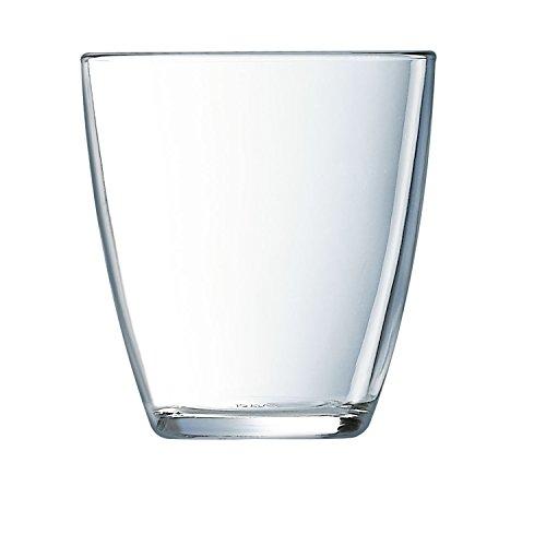 Luminarc concetto Lisse- Set di 6 bicchieri bassi, 25 cl