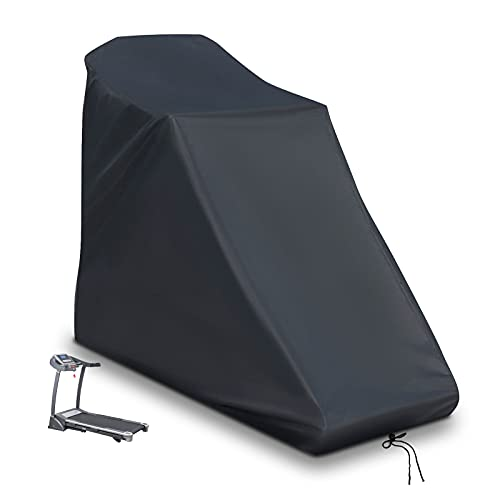 POMER Treadmill Cover - 78x37x59inch Dustproof and Waterproof Protective Cover with Drawstring for Non-Folding Home Running Machine