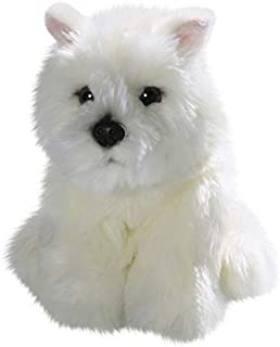 Carl Dick Westie, West Highland Terrier Dog Puppy, 8.5 inches, 22cm, Plush Toy, Soft Toy, Stuffed Animal 3137
