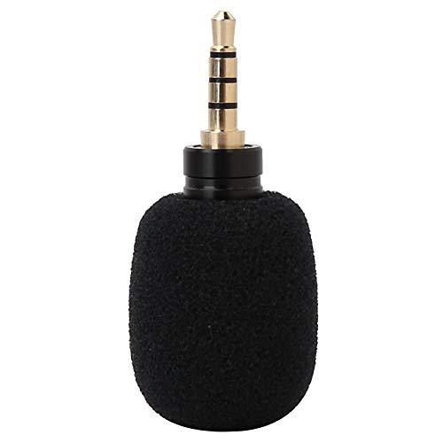 01 Micrófono Capacitivo EY-630A, Mini micrófono Duradero, para Tableta, teléfono móvil(3.5 cuadrupolo monofónico en línea)