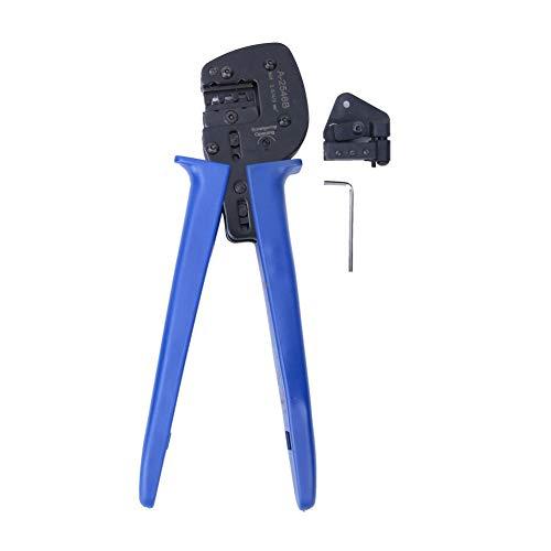 Crimpadora de alambre de alta dureza, conector solar, herramienta de mano, terminal...