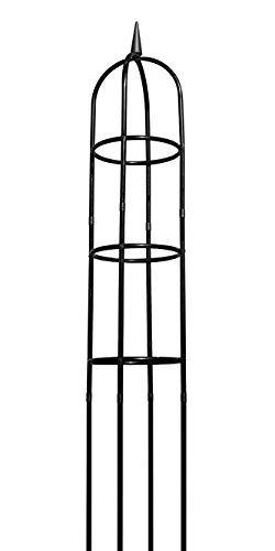Gardman R352 Garten-Obelisk, schwarz, 244 cm hoch