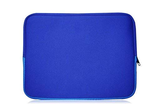 Sweet Tech BLUE Neoprene Laptop Case Cover Sleeve suitable for HP EliteBook 840 G6 14 Inch Laptop (13 to 14')