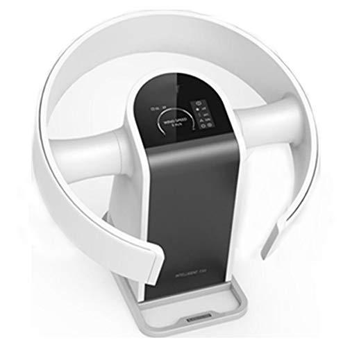 Intelligente ventilator zonder bladeren, ultrastil, zonder bladen, tafelventilator, staande ventilator voor thuisgebruik, afstandsbediening, 9 snelheden, wit