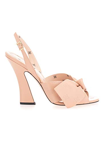 FENDI Luxury Fashion Damen 8X7029A8U0F19C0 Rosa Leder Sandalen | Frühling Sommer 20