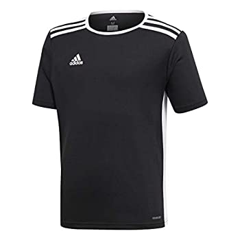adidas Boys  Standard Entrada 18 Jersey Black Large