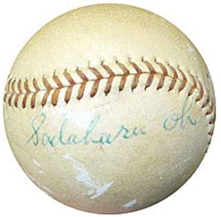 Sadaharu Oh Signed Official Yomiuri Giants Game Used Baseball Vintage Signature - PSA/DNA Authentication - Baseball Collectible