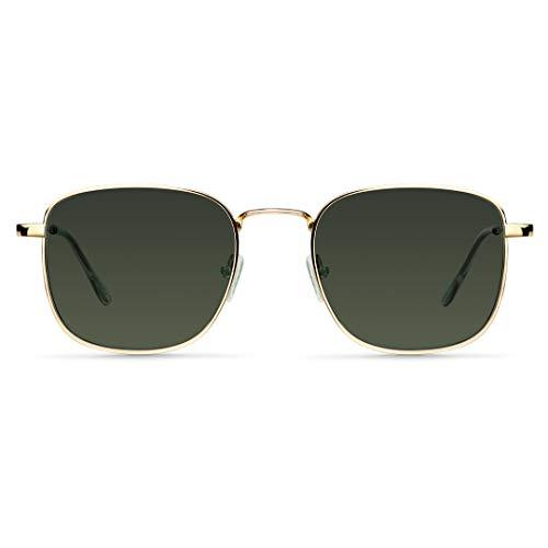 MELLER - Iana Gold Olive - Gafas de sol para hombre y mujer