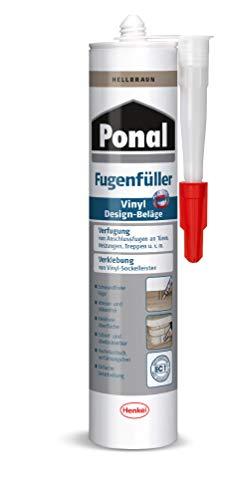 Ponal PV6HB Fügenfüller für Vinyl Design-Beläge, Hellbraun