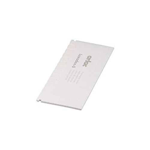 arlac® Ersatzregister für Telefonregister Luxadex-S/841-00 80x170x3mm weiß