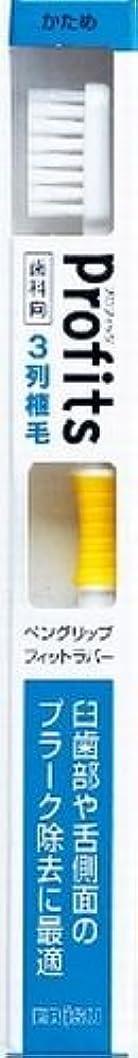 有名達成可能会員BK-30Hプロフィツ3列ハブラシ 硬め(J)×240点セット (4901221065303)