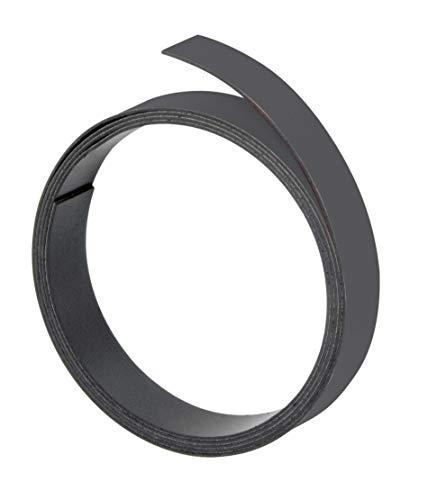 Franken M801 10 Magnetband, 100 cm x 5 mm, Stärke: 1 mm, schwarz